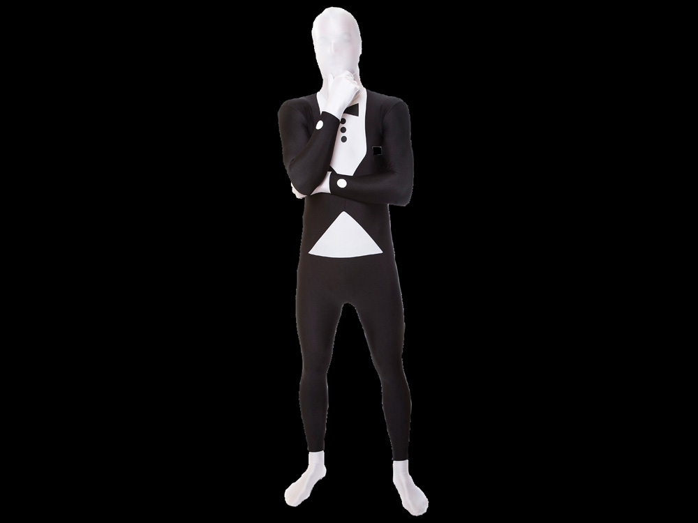 Morphsuit_schwarz Anzug